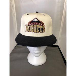 NBA Denver Nuggets Cream Baseball Cap SZ 7